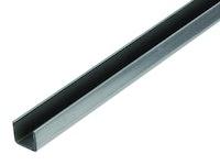 GAH U-Profil 20x20x1,5 mm, Stahl roh, kalt gewalzt