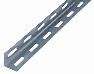 GAH Winkelprofil gelocht, 27x27x1,5 mm, Stahl roh