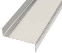 GAH Strukturblech, gekantet, Z-Form, 18x63x18mm, Alu