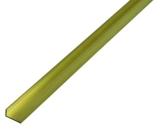 GAH Winkelprofil, Messing, Länge 1m, versch. Größen
