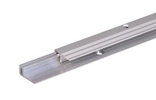 GAH Abschlussprofil PRO, Alu, Breite 22mm, Länge 0,9m, versch. Oberfl.