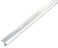 GAH T-Profil, Alu, 15 x 15 mm, chromdesign