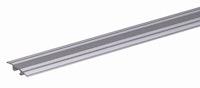 GAH Übergangsprofil für verdeckte Montage, Alu, Breite 32mm, Länge 0,9m