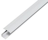 GAH Übergangsprofil DUO, Alu, Breite 34mm, Länge 1m