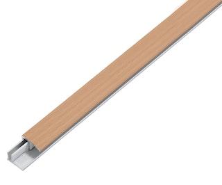 GAH Abschlussprofil DUO, Alu, Breite 22mm, Länge 1m, versch. Dekore