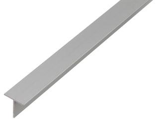 GAH BA-Profil, T-Form, Alu, Länge: 2,6m, versch. Breiten