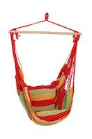 Garden Pleasure Hängesessel TOBAGO 65 % Baumwolle / 35 % Polyester rot/grün/gelb