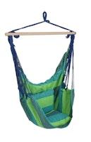 Garden Pleasure Hängesessel TOBAGO 65 % Baumwolle / 35 % Polyester blau/grün