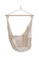 Garden Pleasure Hängesessel TOBAGO 65 % Baumwolle / 35 % Polyester beige