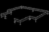 Halls Stahlfundament für Gewächshaus Garden Room 12,9 m²