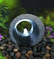 Gardenforma Wasserspielset Grotta aus Naturstein