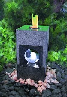 Gardenforma Feuer-Wasserspielset Oracle für Bioethanol
