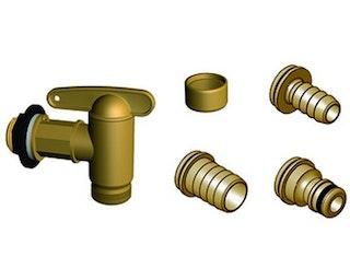 Graf Garantia Aqua-Quick Kunststoffhahn-Set