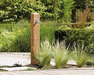 Graf Garantia Wood Wasserzapfsäule