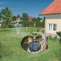 Graf Carat Komplettpaket Garten-Komfort begehbar