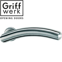 GRIFFWERK Griffpaar SAVIA K3-Edelstahl matt