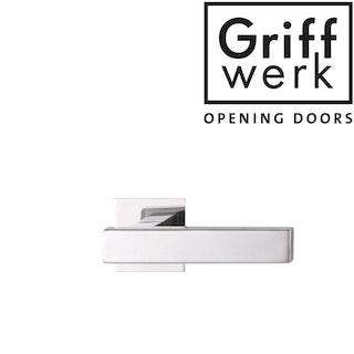 GRIFFWERK Griffpaar CUBICO Piatta-Edelstahl poliert DESIGN MANUFAKTUR