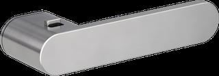 GRIFFWERK Drückergarnitur Smart2lock AVUS ONE - Samtgrau, Graphitschwarz