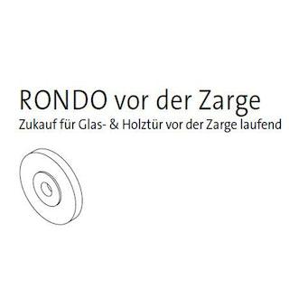 GRIFFWERK RONDO v. Zarge Distanzscheibe 5 mm Set 5 Stück