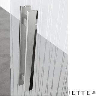 GRIFFWERK Griffstangenpaar JETTE VISION GST Edelstahl-Optik