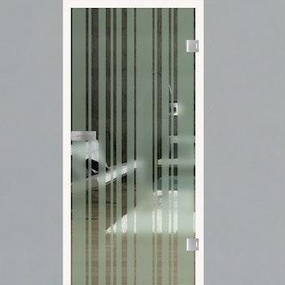 GRIFFWERK Ganzglastüre LINES STICKS-512 SONDERMAß max. 120 x 230 cm