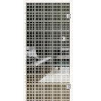GRIFFWERK Ganzglastüre TARTAN CLASSIC-562 SONDERMAß max. 120 x 230 cm