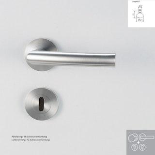 Griffwerk Wechselgarnitur LORITA PROFESSIONAL K3 - Edelstahl matt