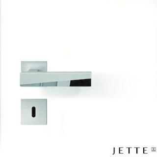GRIFFWERK Rosettengarnitur JETTE VISION RG Piatta S-Edelstahl matt
