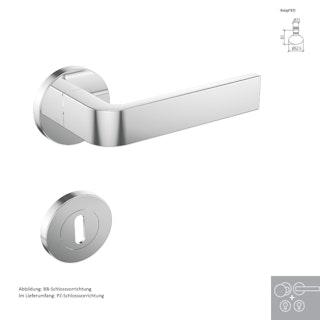 Griffwerk Wechselgarnitur SIEGER DESIGN / GRAPH K4 - Edelstahl poliert