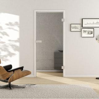 GRIFFWERK Ganzglastüre 3D LD 673 ESG - Laserdekor