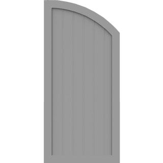GroJa BasicLine Typ Q rechts 1,50/1,20 Meter hoch - in verschiedenen Farben + Breiten