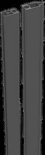 GroJa Mix it Stecksystem Aluminium-Adapterleisten Set