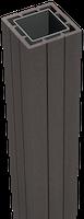GroJa Solid Zaunelement Pfosten zum Aufdübeln 7 x 7 cm - Auslaufartikel