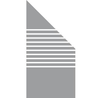 GroJa Ambiente Glas-Sichtschutz Typ Schräg rechts 90x180/90