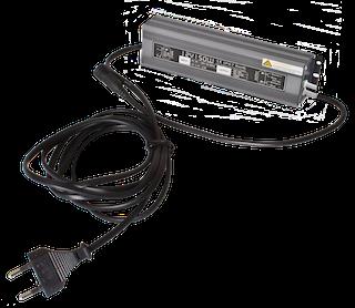 GroJa Glow Trafo für bis zu 5 Lichtleisten, 150 Watt