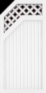 GroJa BasicLine Typ E Rank 90 links 1,80/1,50 Meter hoch - in verschiedenen Farben + Breiten
