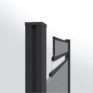 GroJa Mix it Stecksystem Aluminium-Abschlussprofil 180 cm