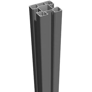 GroJa Lumino Stecksystem Torpfosten zum Einbetonieren 9 x 9 cm