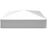 GroJa Pyramidenkappe für Pfosten Kunststoffzäune