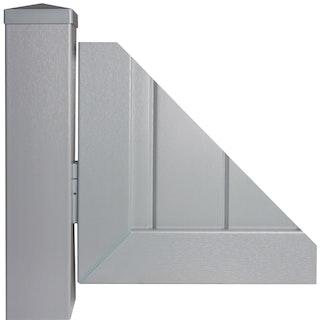 GroJa Befestigungs-Set für 1 Sichtschutzelement