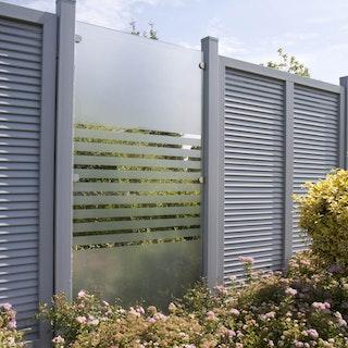 GroJa Ambiente Glas-Sichtschutz Typ Senkrecht 120