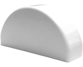 GroJa BasicLine Ersatzkappe für 1 Zaunlatte weiß
