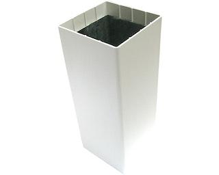 Groja Zaunpfosten inkl. Stahlkern für Zaunsystem Exklusiv 3 Farben