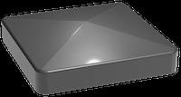 GroJa Stecksystem Alu-Pfostenersatzkappe 7 x 7