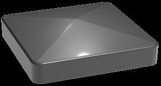 GroJa Stecksystem Alu-Pfostenkappe 9x9