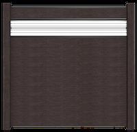 GroJa Solid Stecksystem Bausatz Quadratisch inkl. Glas-Designeinsatz 30cm