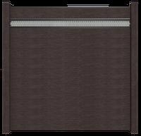 GroJa Solid Stecksystem Bausatz Quadratisch inkl. Lochblech-Designeinsatz 15cm