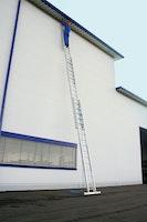 Günzburger Aluminium-Seilzugleiter 3-teilig mit nivello®-Traverse