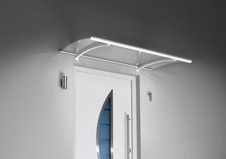 Gutta Pultvordach mit LED-Technik