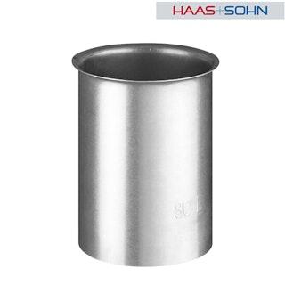 Haas+Sohn Wandfutter Ø 8 cm für Pelletofen-verzinkt